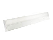 "Kobi Electric K8M8 UC28-30-WH Kobi 28"" 12 Watt Dimmable LED Undercabinet Light Fixture - White"