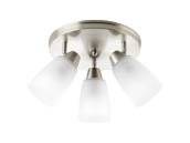 Progress Lighting P3361-09 Three-light Wall or Ceiling Mount Directional
