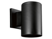 Progress Lighting P5712-31 Non-Metallic Cylinder Outdoor Fixture, Black