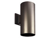 Progress Lighting P5641-20/30K Non-Metallic Cylinder Outdoor Fixture, White
