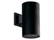 Progress Lighting P5641-31/30K LED Cylinder Outdoor Fixture, Black