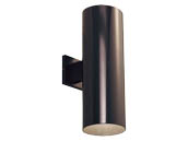 Progress Lighting P5642-20/30K LED Cylinder Outdoor Fixture, Antique Bronze
