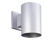 Progress Lighting P5674-82/30K LED Cylinder Outdoor Fixture, Metallic Gray