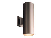 Progress Lighting P5675-20/30K LED Cylinder Outdoor Fixture, Antique Bronze