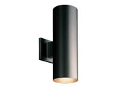Progress Lighting P5675-31/30K LED Cylinder Outdoor Fixture, Black