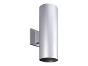 Progress Lighting P5675-82/30K LED Cylinder Outdoor Fixture, Metallic Gray
