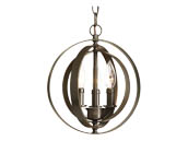Progress Lighting P5142-20 Three-light Sphere Pendant