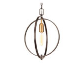 Progress Lighting P5180-20 One -light Sphere Mini-Pendant