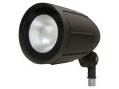 MaxLite M100060 BF12AUDW30B Maxlite 12 Watt 3000K Wide Beam LED Bullet Flood Fixture