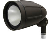 MaxLite 100076 BF30AUDW30B Maxlite 30 Watt 3000K Wide Beam LED Bullet Flood Fixture