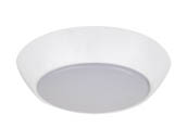NaturaLED 7455 LED7FMC-70L840 75 Watt Equivalent, 10 Watt 4000K Dimmable LED Flush Mount Compact Ceiling Fixture