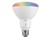 Sylvania 73739 LED11BR30RGBWLFY Lightify BR30 RGB Color Changing LED Bulb
