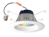 "Sylvania 73741 LED13.5RT56RGB W LFY Lightify 5"" or 6"" RGBW LED Downlight"