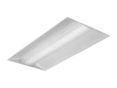 Day-Brite 2EVG48L840-4-D-UNV-DIM-EMLED EvoGrid 48 Watt 2x4 ft Dimmable LED Recessed Troffer, 4000K with Emergency Battery Backup