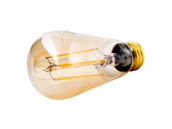 Bulbrite 776601 LED5ST18/22K/FIL-NOS/2 Dimmable 5W 2200K Vintage ST18 Filament LED Bulb