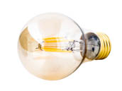 Bulbrite 776602 LED5A19/22K/FIL-NOS/2 Dimmable 5W 2200K Vintage A19 Filament LED Bulb