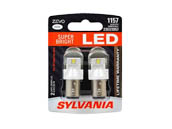 Sylvania 32768 ZEVO2 G2 1157LED.BP2 EN-SP 2/SKU 72/CS 1157 ZEVO LED White Auto Bulb