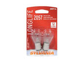 Sylvania 32585 2057LL.BP2  2/SKU  20/BX  200/CS 2057 Long Life Automotive Bulb