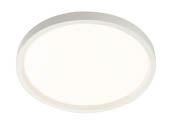 "Lightolier S7R830K10 SlimSurface Dimmable 14.2W 3000K 7"" Round LED Downlight"