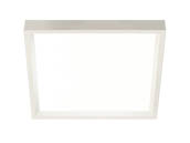 "Philips Lighting S6S827K10 Philips SlimSurface Dimmable 14.2W 2700K 6"" Square LED Downlight"