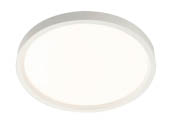 "Lightolier S7R827K10 SlimSurface Dimmable 14.2W 2700K 7"" Round LED Downlight"