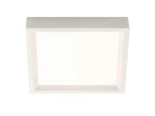 "Philips Lighting S4S827K7 Philips SlimSurface Dimmable 9.5W 2700K 4"" Square LED Downlight"