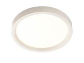 "Lightolier S5R827K7 SlimSurface Dimmable 9.5W 2700K 5"" Round LED Downlight"