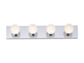 "Nuvo Lighting 77-193 Four-light Wall Mounted 24"" Vanity Fixture"