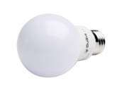 Bulbs.com 281221 A19 120V 8.5W 60WE 827 E26 NDM G4 8.5 Watt Non-Dimmable 2700K A-19 LED Bulb