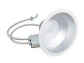 "Green Creative 97708 48CDL9.5G4DIM/840/277V Dimmable 48W 4000K 9.5"" Recessed LED Downlight"