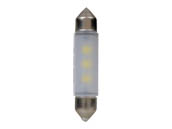 Sylvania 33274 SYLED 6411SL.BP EN-SP UPP 1/SKU 12/CS 6411 LED 41mm Festoon Interior Auto Bulb