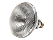 Philips Lighting 145508 100PAR38/HEAT/CL Philips 100 Watt, 120 Volt PAR38 Clear Infrared Halogen Heat Lamp Bulb