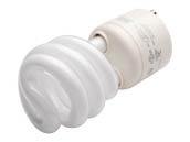 TCP 33113SP-50 33113SP50K 60 Watt Incandescent Equivalent, 13 Watt, Bright White GU24 Spiral Compact Fluorescent Lamp