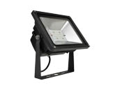 NaturaLED 7518 LED-FXFDL50/50K/BK 250 Watt Equivalent, 50 Watt LED Flood Light Fixture, 5000K