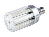 Light Efficient Design LED-8039E57-A 18 Watt 5700K Post Top/Bollard Retrofit LED Bulb, Ballast Bypass
