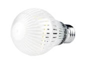 Lighting Science FG-02641 LS A19DB 60WE W27 120 2PK Dimmable 7.5 Watt 2700K Durabulb A-19 LED Bulb 2-Pack