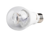Philips Lighting 462515 6A19/LED/827-22/CL/DIM 120V Philips Dimmable 6W Warm Glow 2700K-2200K A19 LED Bulb