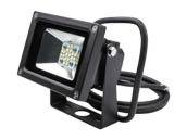 NaturaLED 7514 LED-FXFDL13/50K/BK 75 Watt Equivalent, 13 Watt Small LED Flood Light Fixture, 5000K