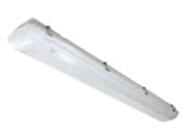 "MaxLite 101619 LSV4U5040 50 Watt, 48"" Dimmable Vapor Tight LED Fixture, 4000K"