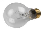 Bulbrite 107275 75A/CL/RS-2PK 75W 130V Clear A19 Rough Service Bulb, 2 Pack E26 Base