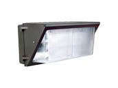NaturaLED 7080 LED-FXTWP80/40K/DB 400 Watt Equivalent, 80 Watt Forward Throw LED Wallpack Fixture, 4000K