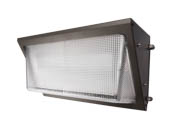 NaturaLED 7081 LED-FXTWP80/50K/DB 400 Watt Equivalent, 80 Watt Forward Throw LED Wallpack Fixture, 5000K