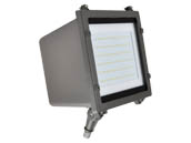 NaturaLED 7181-P10036 LED-FXFDL58/40K/DB-KNC-P10036 250 Watt Equivalent, 58 Watt 4000K LED Flood Light Fixture With Photocell