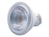 Green Creative 57988 6GU10DIM/830FL35 Dimmable 6W 3000K 35° MR16 LED Bulb, GU10 Base, Rated For Enclosed Fixtures