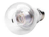 Philips Lighting 462531 10A19/LED/827-22/CL/DIM 120V Philips Dimmable 2700K to 2200K 10W A19 LED Bulb