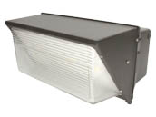MaxLite 101360 WP-OPX120UT3-50BP1 400 Watt Equivalent, 120 Watt Forward Throw LED Wallpack Fixture With 120V Photocell