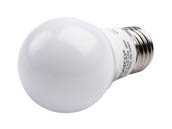 Satco Products, Inc. S9031 5.5A15/LED/3000K/120V Satco Dimmable 5.5W 3000K A15 LED Bulb, Enclosed Rated