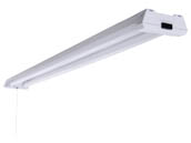 "MaxLite 107705 SL-48401-50 Maxlite Non-Dimmable 40 Watt 48"" 5000K Shop Light LED Fixture"