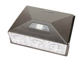 MaxLite 107131 WP-WMP90UT2-50BPC 400 Watt Equivalent, 90 Watt Precision LED Wallpack Fixture With 120-277V Photocell