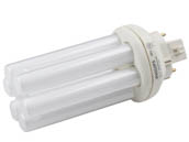 Philips Lighting 458216 PL-T 18W/830/A/4P/ALTO Philips 18 Watt, 4-Pin Soft White Triple Twin Tube CFL Bulb